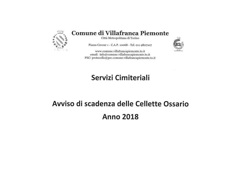 Comune di villafranca piemonte sito internet for Scadenza irpef 2017